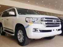 Bán Toyota Land Cruiser VX 2016, màu trắng, nội thất kem, đăng ký tên công ty