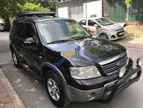 Bán chiếc xe Ford Escape XLT AT 3.0 2 cầu điện 4x4 số tự động đk 2005, màu đen