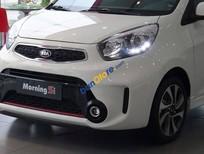 Bán Kia Morning 1.25 2018, màu trắng trả góp 90% giá trị xe