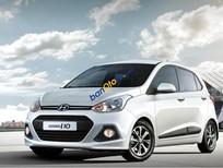 Còn 1 xe màu bạc Hyundai Grand I10 1.0AT, chỉ 375 triệu, có xe giao ngay, hỗ trợ vay ngân hàng