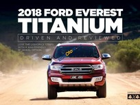 Bán xe Ford Everest Titanium 2.2L 4X2 AT 2018, xe đủ màu, nhập khẩu từ Thái, LH: 0918889278 để được tư vấn