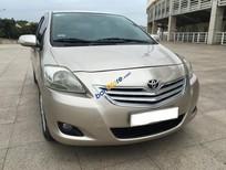 Bán xe Toyota Vios E đời 2010, màu ghi vàng, giá tốt