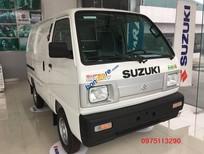 Bán Suzuki Carry Bind Van sản xuất 2018, màu trắng, giá tốt