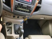 Bán Toyota Fortuner 2.7 AT, màu bạc