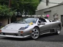 Bán xe Lamborghini Diablo VT Roadster sản xuất 1999, màu bạc nhập khẩu nguyên chiếc