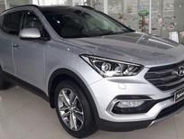 Cần bán xe Hyundai Santa Fe sản xuất 2018, màu bạc