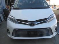 Bán ô tô Toyota Sienna Limited 2018, màu trắng, nhập khẩu Mỹ