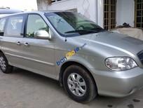 Cần bán Kia Carnival AT đăng ký lần đầu 2009, màu bạc nhập khẩu, giá 245triệu