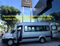 Hyundai Sơn Trà cần bán xe Hyundai Solati 16 chỗ đời 2018, màu bạc, xe nhập