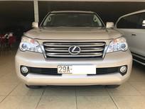 Cần bán xe Lexus GX460 Mỹ 2010, màu vàng cát, đăng ký 2011