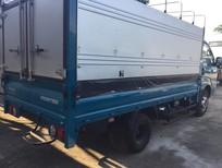 Cần bán xe tải Kia K200 thùng mui bạt, màu xanh lam, hoàn toàn mới.
