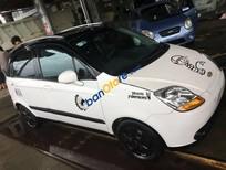Bán ô tô Chevrolet Spark MT sản xuất 2010, màu trắng, nhập khẩu nguyên chiếc