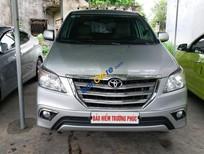 Cần bán xe Toyota Innova sản xuất 2013, màu bạc chính chủ, nâng phom 2015