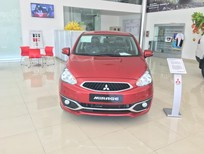 Cần bán Mitsubishi Mirage MT 2018, màu đỏ, nhập khẩu nguyên chiếc, giá 350 tr, xe mới 100%