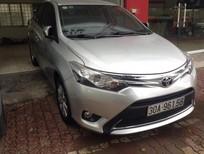 Cần bán gấp Toyota Vios 1.5G sản xuất 2016, màu bạc, xe rất đẹp