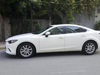 Bán xe Mazda 6 2.0 AT 2015 màu trắng, 15000km