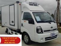 Bán xe tải K165 đời mới (K250) thùng đông lạnh, động cơ Hyundai Hàn Quốc, hỗ trợ trả góp lên tới 75%
