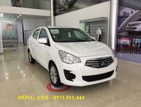 Bán xe Mitsubishi Attrage MT Eco 2018, màu trắng, nhập khẩu nguyên chiếc, giá 375 triệu. trả góp 90%
