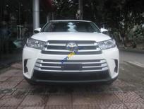 Cần bán Toyota Highlander LE đời 2017, màu trắng, nhập khẩu nguyên chiếc