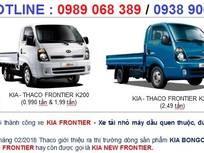 Cần bán xe tải kia 2400kg đời 2018, giá xe tải kia 2t4, xe tải kia k250 2t4 tại bình dương