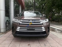 Bán ô tô Toyota Highlander LE sản xuất 2017, màu nâu, xe mới nhập khẩu Mỹ