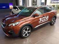 Cần bán xe Peugeot 3008 năm 2019, màu nâu