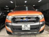 Cần bán xe Ford Ranger Wildtrak năm 2016, nhập khẩu, màu cam