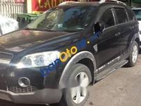 Bán lại xe Chevrolet Captiva năm sản xuất 2007, màu đen, xe đi kĩ