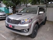 Cần bán lại xe Toyota Fortuner năm sản xuất 2015, màu bạc