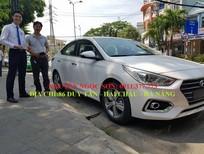 Bán ô tô Hyundai Accent mới 2018, màu trắng, 425 triệu, góp 90% xe