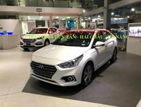 Bán xe Hyundai Accent mới 2018, màu trắng góp 90%xe,siêu rẻ Đà Nẵng