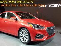 Bán xe Hyundai Accent mới 2018, màu đỏ, 425tr,góp 90%xe