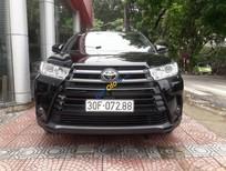 Bán xe Toyota Highlander LE năm sản xuất 2016, màu đen, nhập khẩu