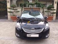 Cần bán gấp chiếc Toyota Vios 1.5 E 2012 màu đen, số sàn