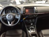 Bán Mazda 6 2.5AT năm sản xuất 2014, màu đỏ, chạy lướt, đãm bảo bởi hãng