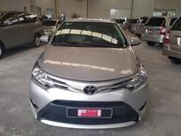 Bán ô tô Toyota Vios 1.5E 2017, màu bạc, giá thương lượng đối với khách hàng có thiện chí mua xe tại đại lý Toyota