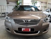 Bán xe Toyota Camry 2.4G đời 2008, màu nâu, giá thương lượng xe bao đẹp chất lượng đã được đại lý Toyota kiểm duyệt