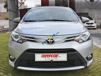 Bán Toyota Vios G sản xuất năm 2017, màu bạc, Full option