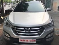 Cần bán gấp Hyundai Santa Fe 2.2L Full dầu 2014, màu bạc, xe nhập