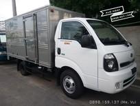 Xe tải 2.4 tấn Kia Frontier K250 (Kia K250), thùng kín, màu trắng, máy Hyundai, LH: 0938907135