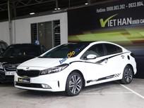 Cần bán Kia Cerato 1.6AT 2016, màu trắng, giá 578tr