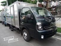 Xe tải 2.4 tấn Kia Frontier K250 (Kia K250), thùng kín, màu xanh đen, máy Hyundai, LH: 0938907135