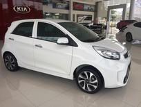 Cần bán xe Kia Morning S AT năm 2018, màu trắng, giá chỉ 390 triệu
