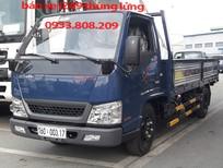 Xe tải DoThanh IZ49 2T5 thùng lửng hỗ trợ trả góp 90%— xe có sẵn giao ngay