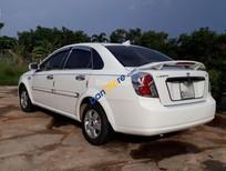 Bán xe Daewoo Lacetti đời 2008, màu trắng còn mới, xe đẹp, giá 230tr