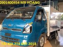 Bán xe tải Kia 2T4 - Kia K165S máy Hyundai, màu xanh lam, 334tr