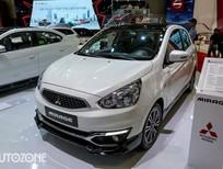Bán ô tô Mitsubishi Mirage đời 2018, màu trắng, chạy Grab hiệu quả, 4L/100km, tư vấn nhiệt tình
