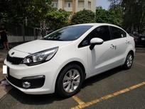 Bán xe Kia Rio 1.4AT 2015, màu trắng, xe nhập khẩu, siêu lướt sơn zin 95%