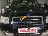 Cần bán lại xe Ford Everest 2.5 MT sản xuất 2007, màu đen như mới