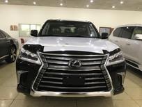 Bán Lexus LX570 màu đen, nội thất nâu, nhập Mỹ, bản full kịch đồ, sản xuất 2018, xe giao ngay, giá tốt
